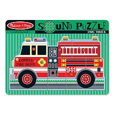 Achat Mes premiers jouets Puzzle Sonore Camion de Pompier