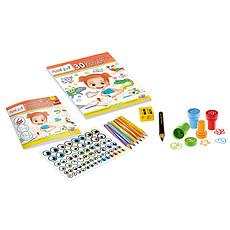 Achat Mes premiers jouets Mini art - Dessins avec les mains