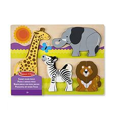 Achat Mes premiers jouets Puzzle Grosses Pièces - Safari