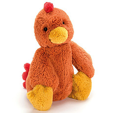 Achat Peluche Bashful Rooster Medium
