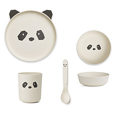Achat Coffret repas Set de vaisselle Panda - Crème de la Crème