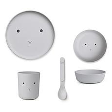 Achat Coffret repas Set de vaisselle Rabbit - Dumbo Grey