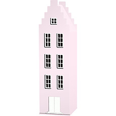 Achat Armoire Armoire Amsterdam Escalier - Rose Pastel