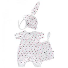 Achat Body & Pyjama Set Body + Bonnet de naissance Cerises - 3 Mois