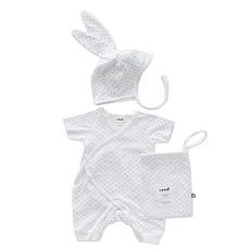 Achat Body & Pyjama Set Body + Bonnet de naissance à Pois - 3 Mois