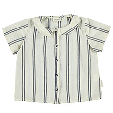 Achat Vêtement layette Blouse Peter Pan - Navy Stripes