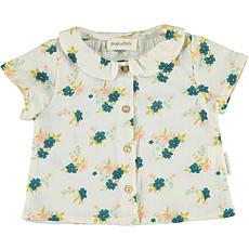 Achat Hauts bébé Blouse Peter Pan - 18 Mois - Flowers