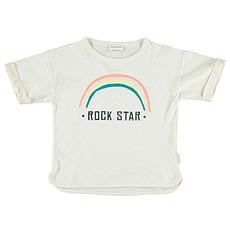 Achat Hauts bébé T-Shirt Rainbow - 6 Mois - Blanc