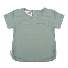 Achat Haut bébé T-shirt Hello Summer Menthe - 3/6 Mois