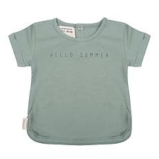 Achat Hauts bébé T-shirt Hello Summer Menthe - 9/12 Mois
