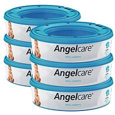 Achat Couche Lot de 6 Recharges pour Poubelle Angelcare