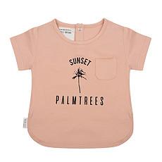 Achat Hauts bébé T-shirt Palmier Corail - 12/18 Mois