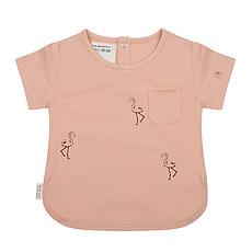 Achat Hauts bébé T-Shirt Flamingo Corail - 12/18 Mois