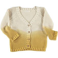 Achat Hauts bébé Cardigan Tie Dye - Moutarde
