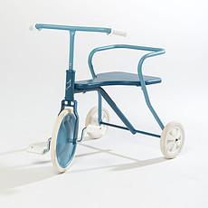 Achat Trotteur & Porteur Tricycle en Métal - Bleu Vintage
