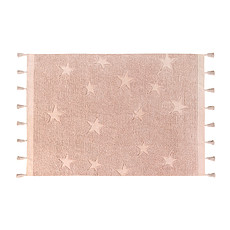 Achat Tapis Tapis Lavable Hippy Stars - 120 x 175 cm - Vintage Nude