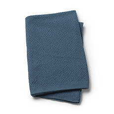 Achat Linge de lit Couverture Point Mousse - Tender Blue