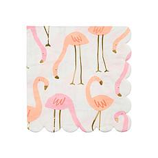 Achat Anniversaire & Fête Petites Serviettes de Table Flamant Rose