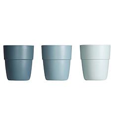 Achat Tasse & Verre Pack de 3 Mini Mugs Yummy Bleu