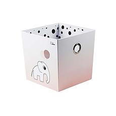 Achat Rangement jouet Boîte de Rangement Happy Dots - Rose
