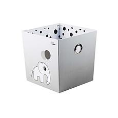 Achat Rangement jouet Boîte de Rangement Happy Dots - Gris