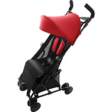 Achat Poussette canne Poussette Compacte Holiday - Flame Red