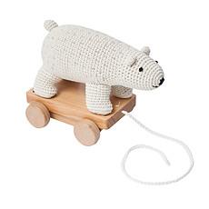 Achat Mes premiers jouets Jouet à Tirer en Crochet - Ours Polaire