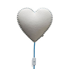 Achat Suspension  décorative Soft Light - Applique Coeur Bleu