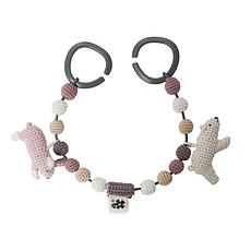 Achat Accessoires poussette Chaîne de Poussette en Crochet - Arctic Animals
