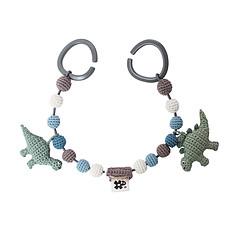 Achat Accessoires poussette Chaîne de Poussette en Crochet - Dinosaures