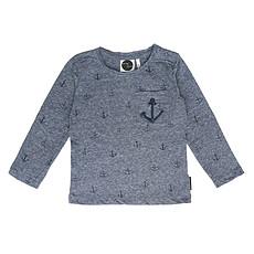 Achat Hauts bébé T-Shirt Anchor Manche Longues - 9/12 Mois