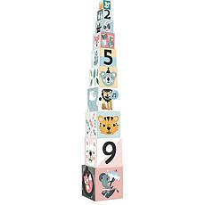 Achat Mes premiers jouets Cube Gigogne Les Animaux par Michelle Carlslund