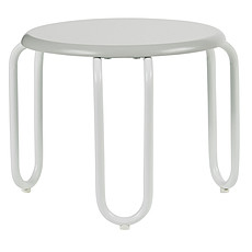 Achat Table & Chaise Tabouret Linus - Blanc / Gris