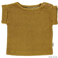 Achat Vêtement layette T-shirt Éponge Laurier - Cassonade