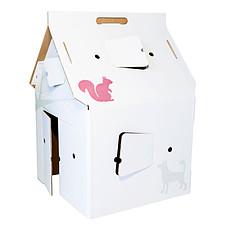 Achat Mes premiers jouets Cabane Carton Casa Cabana Décorée