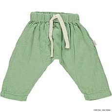 Achat Bas Bébé Pantalon Sauge Greenjade - 6 mois