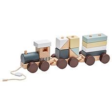 Achat Mes premiers jouets Train en Bois avec Blocs - NEO
