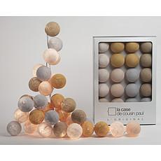 Achat Suspension  décorative Guirlande Lumineuse Oman - 20 Boules