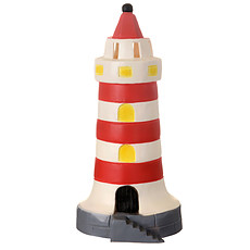 Achat Lampe à poser Lampe Phare - Rouge