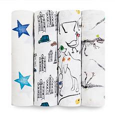 Achat Lange Pack de 4 Maxi-Langes Colour Pop