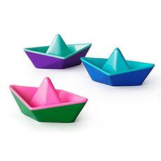 Achat Mes premiers jouets Set de 3 Bateaux Origami à Changement de Couleur