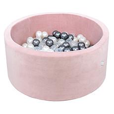 Achat Mes premiers jouets Piscine à Balles Rose Pale 100 cm + Balles RBGT