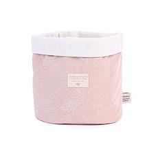 Achat Panier & corbeille Panier de Rangement Panda - White Bubble & Misty Pink
