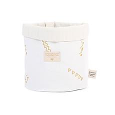Achat Panier & corbeille Panier de Rangement Panda - Gold Secret / White