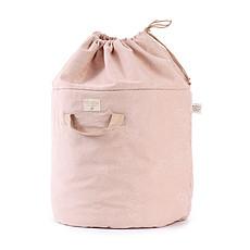 Achat Rangement jouet Sac à jouets Bamboo - White Bubble / Misty Pink