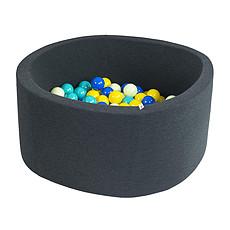 Achat Mes premiers jouets Piscine à Balles Ronde Graphite 90 cm + Balles NJBG