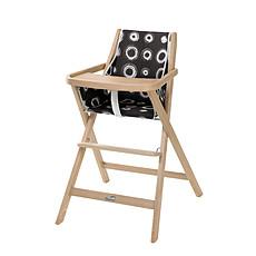 Achat Chaise haute Chaise Haute Traveller Garniture Pois Noirs