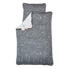 Achat Linge de lit Parure Sleepy Gris - 135 x 100 cm