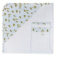Achat Linge & Sortie de bain Cape de Bain + Gant de Toilette - Bananas