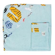 Achat Textile Cape de Bain + Gant de Toilette - Bingo
